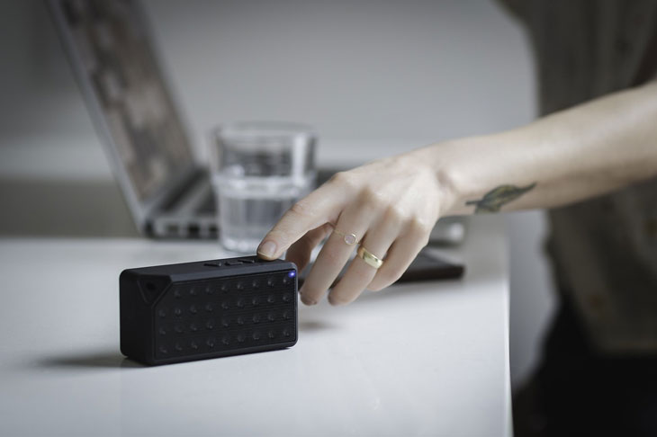 Hand And Speaker